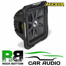 "KICKER solobaric 11s12l74 l7 SQUARE 12"" DVC 1500 WATTS DUAL 4 Ohm Subwoofer Auto"