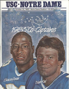 1983-USC-vs-Notre-Dame-Football-Game-Program