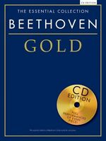 Beethoven Gold Sheet Music The Essential Collection With A Cd Of Perfo 014042306
