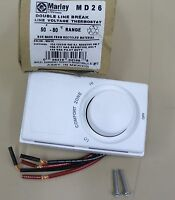 Marley Md26 Double Line Break Line Voltage Thermostat