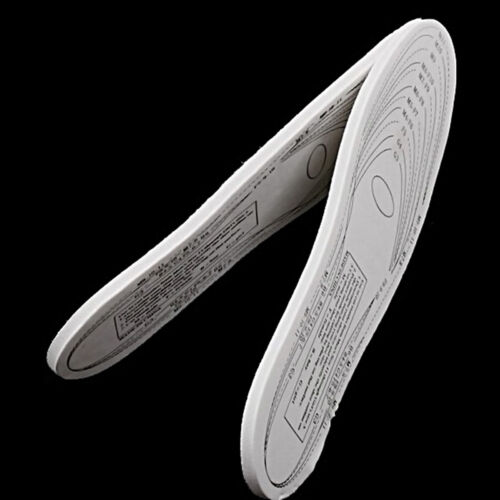 1 Pair Memory Foam Shoe Insoles Trainers Foot Care Pain Relief Cushions Comfort