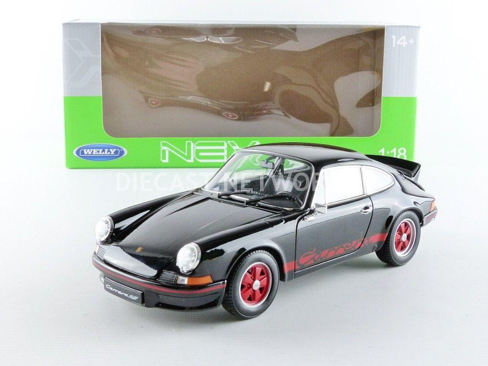 Welly - 1/18 - PORSCHE 911 CARRERA 2.7 RS - 1973 - 18044BK