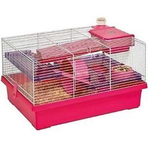 Cage Hamster Jeffrey 58x32x31.5 Cm Flamingo