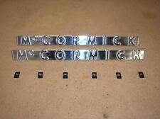 IH /  FARMAL / 300 / 350 / 400 /450 /McCORMICK TRACTOR SIDE EMBLEMS /# 17-13-139
