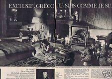 Coupure de presse Clipping 1962 Juliette Gréco  (4 pages)