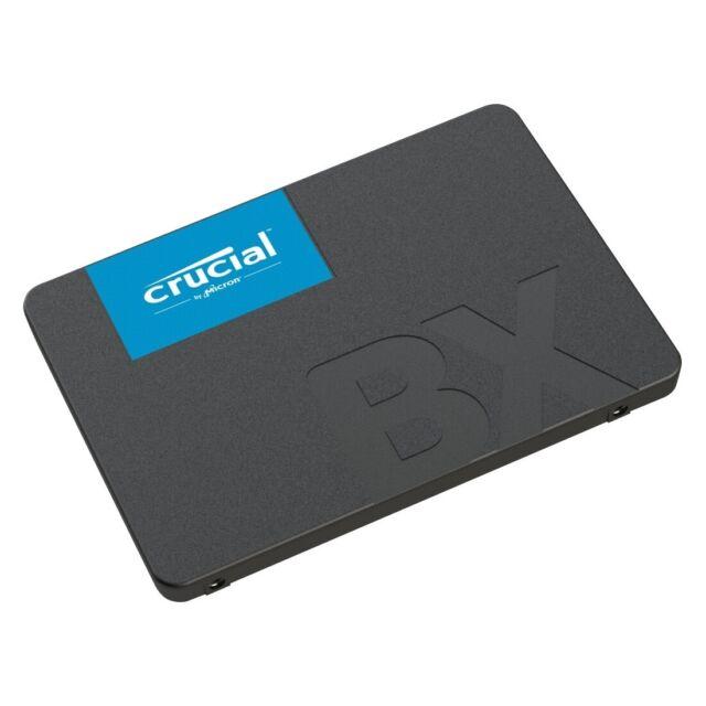 NEUESTE Crucial BX500 240GB, 3D NAND, SATA III, 2,5 Zoll