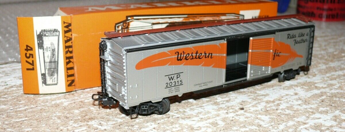 I3 marklin 4571 US scatola auto Western Pacific OVP ROSSO
