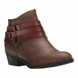 New-Blowfish-Women-039-s-Sanger-Bootie-Coffee-Texas-Whiskey-Dyecut-6