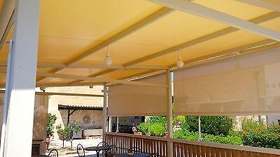PVC TELO TELONE tessuto costruzione in legno 14 M x 6 M BARCA ACQUA SPORT dritti per auto