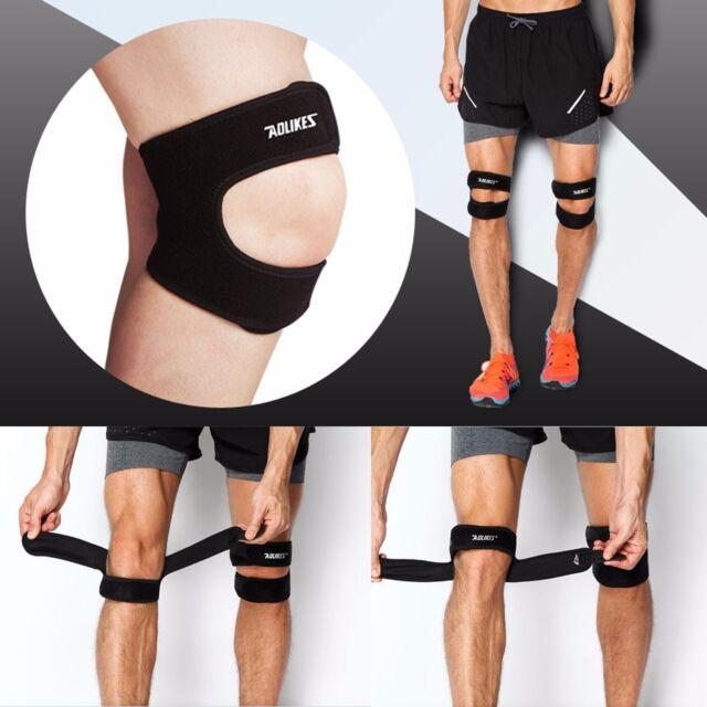 8b8ce55207 New Gym Run Knee Kneecap Patella Support Brace Strap Tendon Band Protector