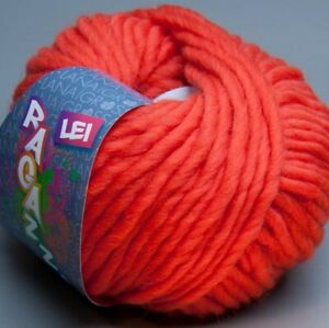 Lana-Grossa-Ragazza-Lei-038-orange-crush-50g-Wolle-7-90-EUR-pro-100-g