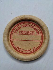 McKean County Creamery Milk Bottle Cap Smethport PA