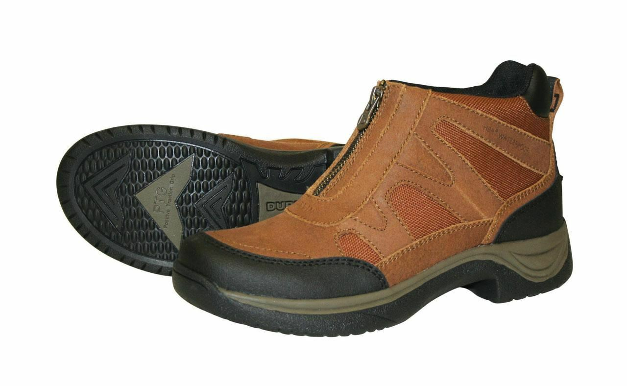 Dublin Nene Adult Waterproof Horse Riding Stable Yard Comfort Zip Walking Boots