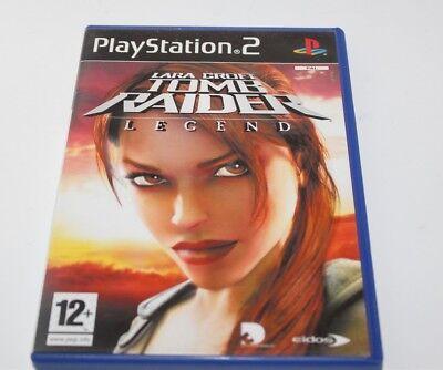 Sony Playstation 2 Lara Croft Tomb Raider Legend Ps2 Game Complete