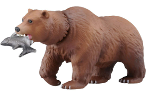 TAKARA TOMY Animal adventure Ania AS-25 Brown bear Japan import NEW