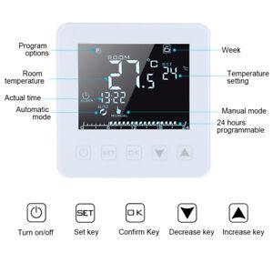 16A-LCD-Modern-Thermostat-Raumthermostat-Bodenheizung-Heizung-Temperaturregler