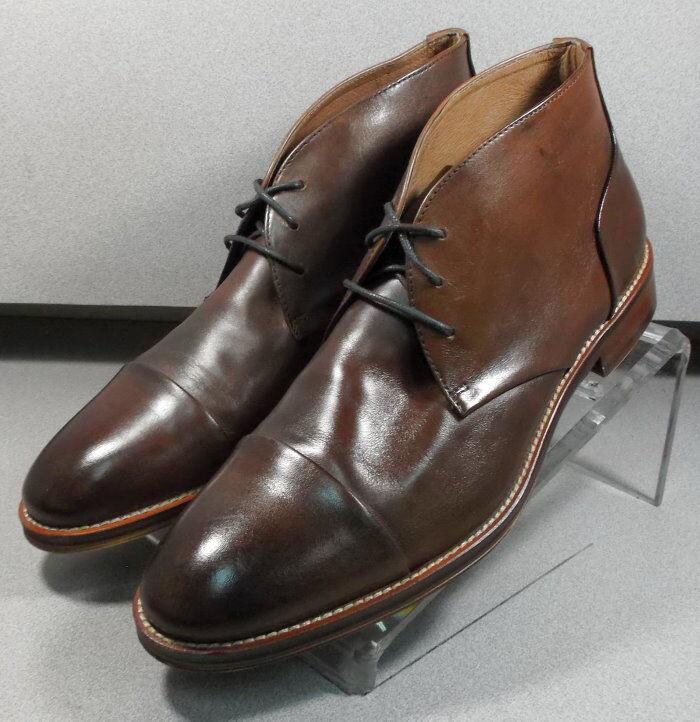 207538 PFBT40 Men's shoes Size 10.5 M Brown Leather Boots Johnston & Murphy