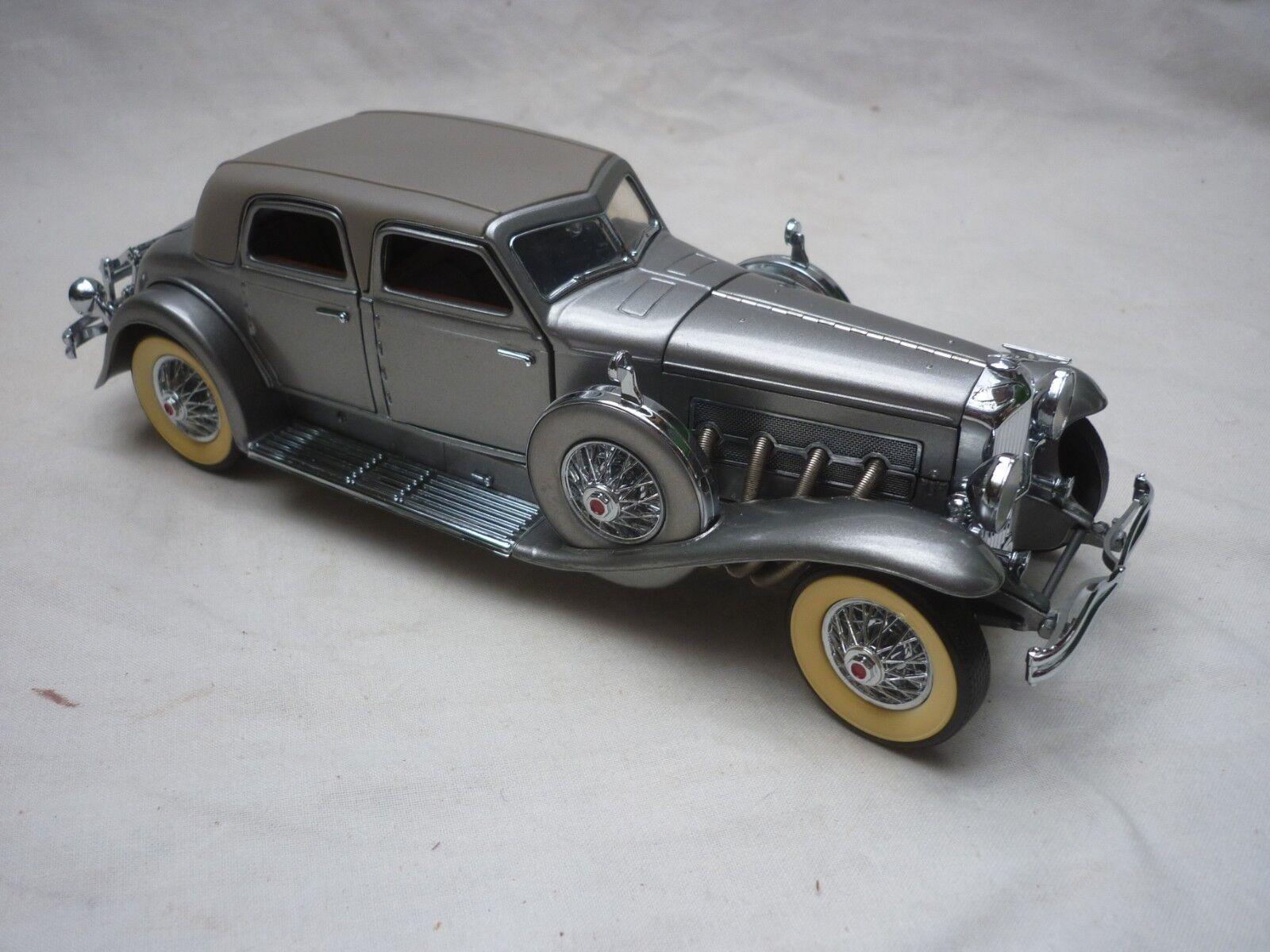 Una scala Danbury Nuovo di zecca auto modello di un 1933 duesenburg SJ VENTIMILA DOLLARI, Loose