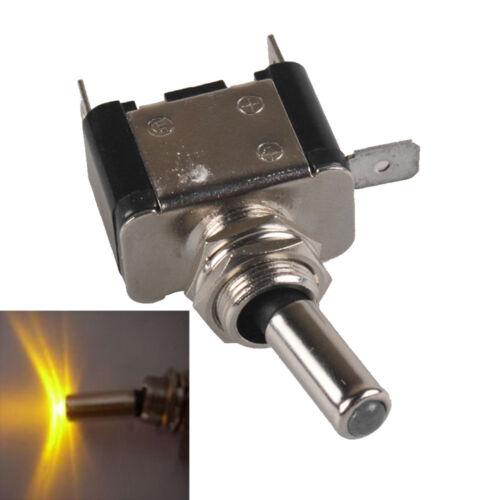 KFZ Schalter 12V//20A Kippschalter LED Beleuchtet EIN//AUS Wippenschalter