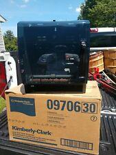 Kimberly Clark Professional 09996 Paper Towel Dispenser Smoke Front Nos