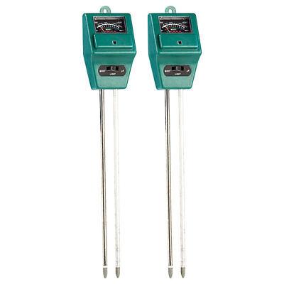 Feuchtigkeitssensor 2er-Set Digitaler Feuchtigkeitsmesser mit LED-Anzeige