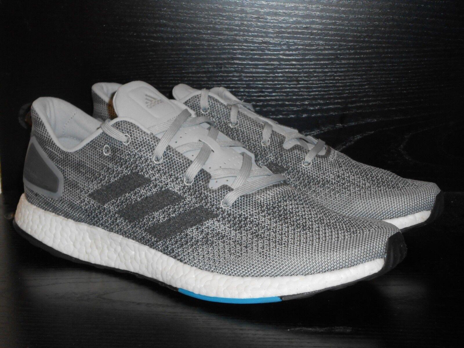 Adidas PureBOOST RMR Homme Running Baskets Chaussures Noir Gris RRP £ 110/-