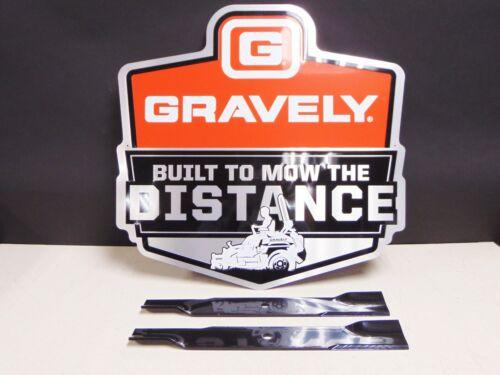 1 set of 2 OEM Genuine Ariens Gravely Lawn Mower Blades GDU10231 GDU 10231