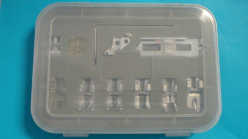 11-teiliges Füßchenset für Pfaff und Gritzner Nähmaschinen mit IDT System