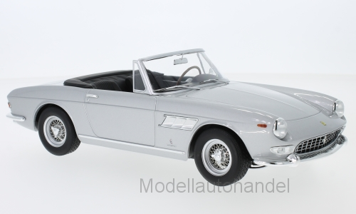 FERRARI 275 GTS PININFARINA SPYDER ARGENTO 1964 - 1:18 KK-scale    NEW <<