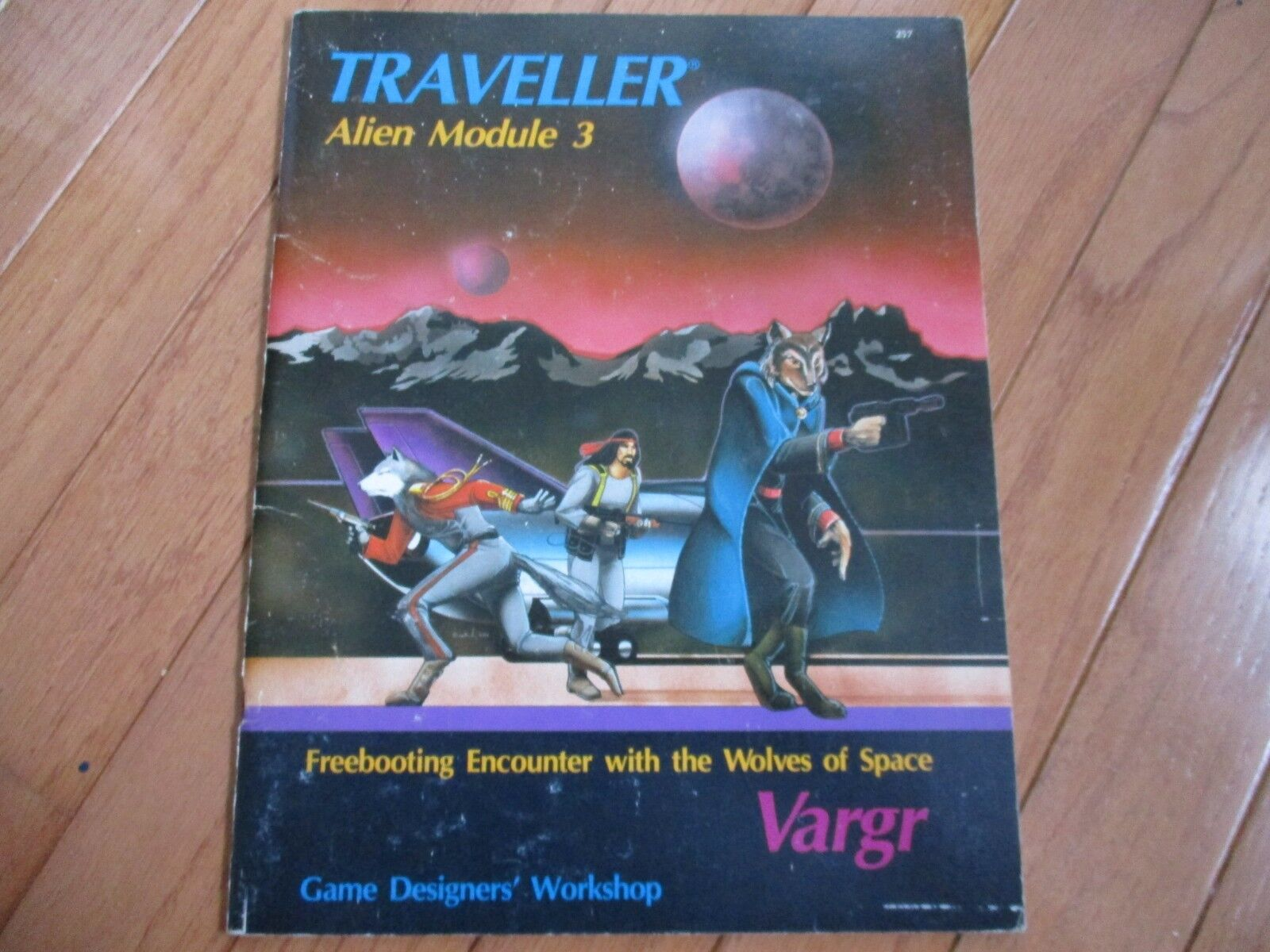 Traveller RPG GDW Alien Module 3 Vargr