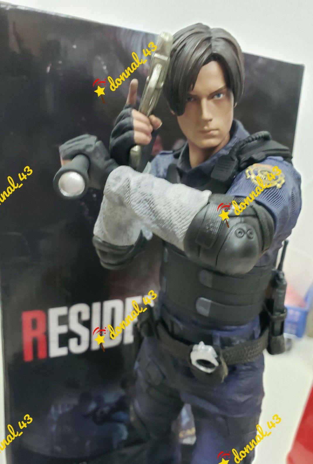 Resident Evil 2 Leon Scott Kennedy 1 6 Scale PVC 12  Figure Statue NIB