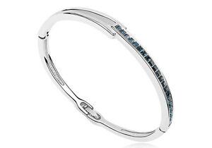 18K-White-Gold-Plated-Bracelet-Bangle-made-with-Swarovski-Crystal-Elements
