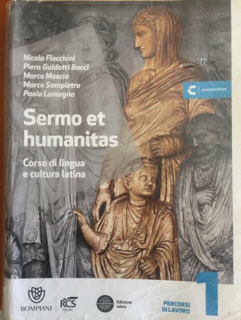 9788845169151 Sermo et humanitas. Percorsi di lavori. Con Repertorio lessicale