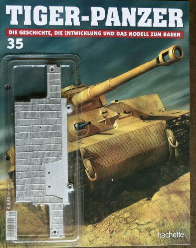 """35 **Hachette**Scale:1:16**Neu** /""""Tiger-Panzer zum selbstbauen***Ausg"""