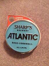 """Metal Beer Pump Clip """"Sharps Atlantic"""" Home Bar Pub Mancave"""