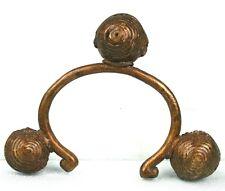 """Art Africain - Chevillère en Bronze """"Tchotchoro"""" Baoulé - Objet Usuel Ancien +++"""