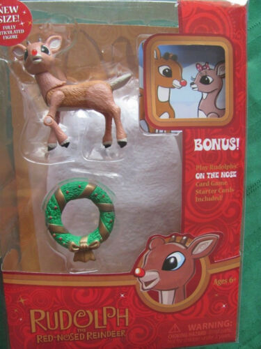RUDOLPH Figure 2011 rudolph misfit toys NEW