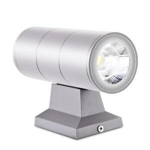 10w Up Down Dual-head Outdoor Lighting Wall Lamps Ip54 Waterproof Cob Led Wall Light Living Room Porch Garden Lamp Ac 85-265v Led Outdoor Wall Lamps