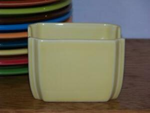 Fiesta-YELLOW-Sugar-Packet-Caddy-Discontinued-Color