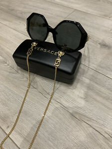 Lunettes De Soleil Versace Avec Chainette