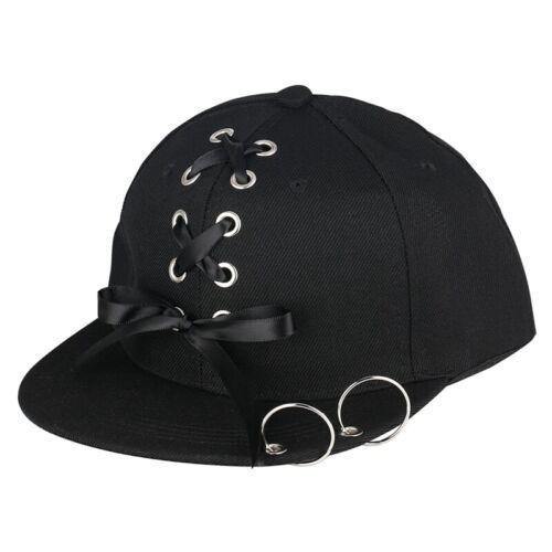 Black Hip-hop Cap Cotton Caps Baseball Sport Hats for Girl Boy Unisex Gift