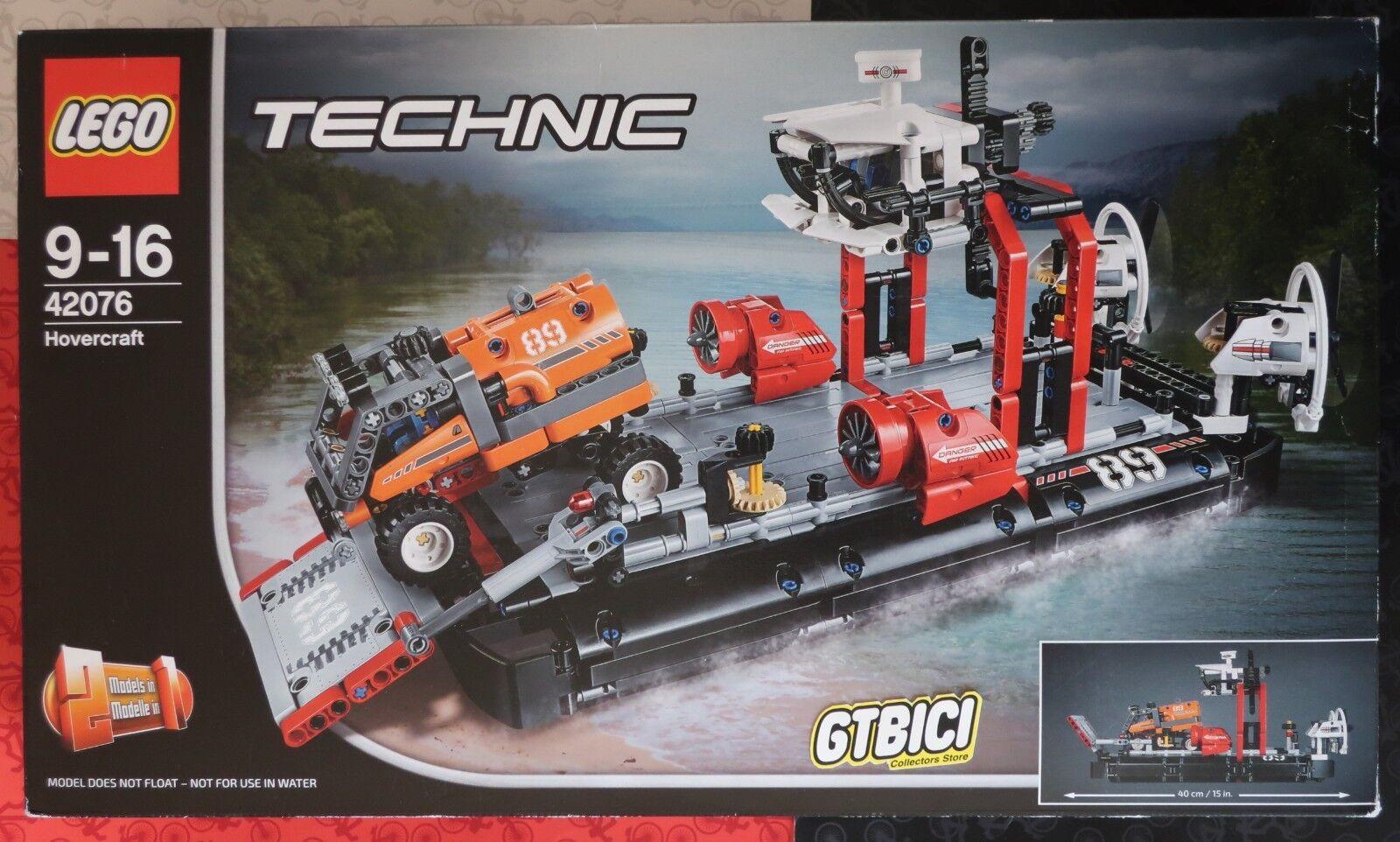 LEGO TECHNIC `` HOVERCRAFT ´´  Ref 42076  NUEVO A ESTRENAR