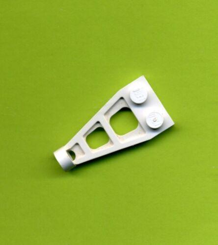 Lego--4596 Space Weiß 4 x 2 Flügel Kupplung
