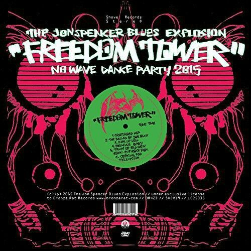 Jon Spencer - Freedom Tower-No Wave Dance Party 2015 [New CD] UK - Import