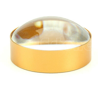 60mm 6X Domed Paper Pressing Read Magnifying Magnifier Glass Loupe Lens Jewelers