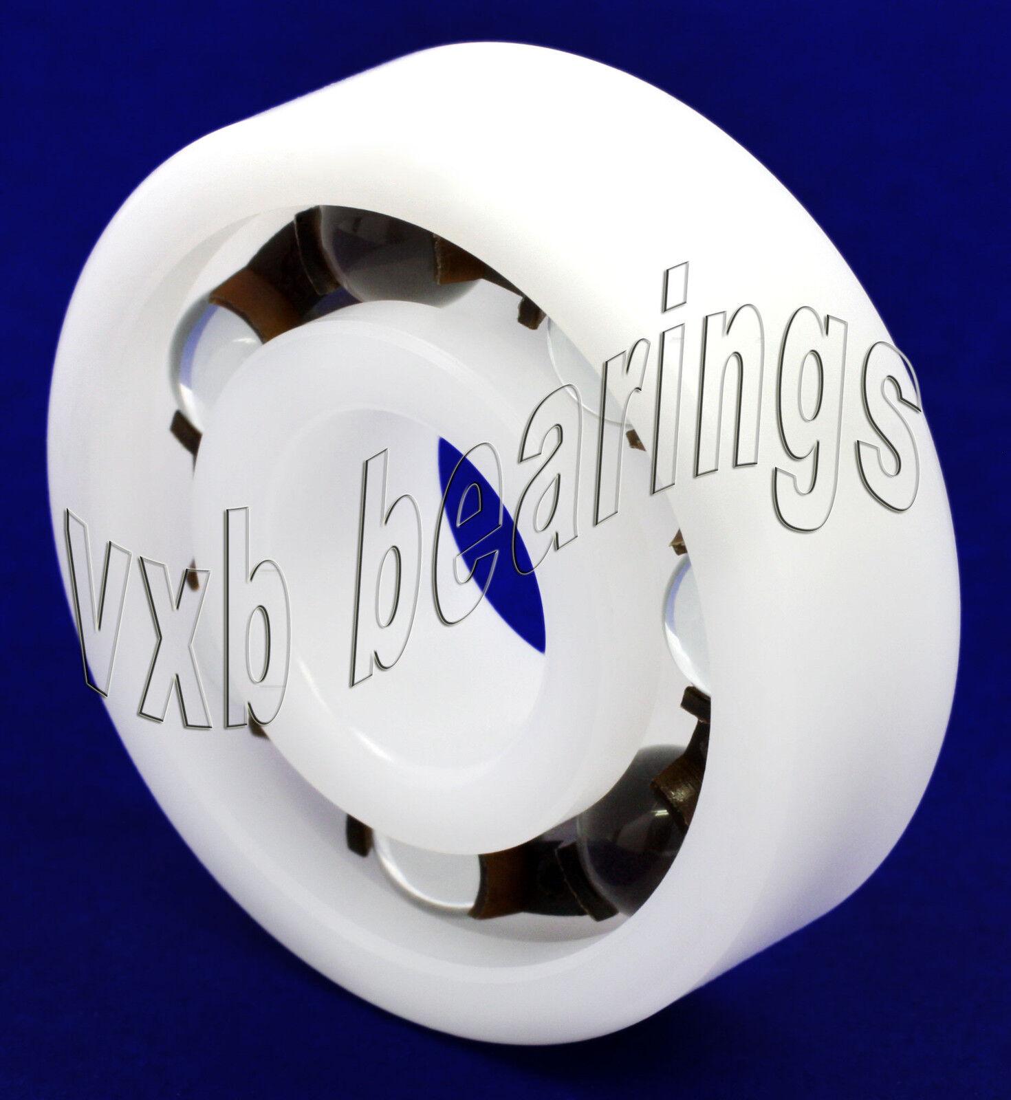 Plastic Bearing POM 6901 Glass Balls 12x24x6mm Ball Bearings Rolling
