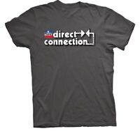 Mopar Direct Connection T-shirt Shirt T Shirt Short Sleeve Gray 2xl