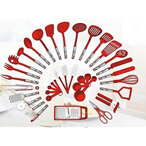 Details about 38-piece Tool Gadget Sets Kitchen Utensils Set Home Cooking  Tools Gadgets Tongs