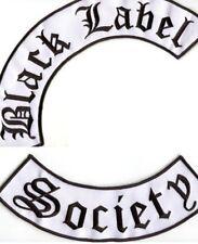 BLACK LABEL SOCIETY BLS IRON-ON NEW ZAKK WYLDE ROCKER PATCH SET for JACKET BACK