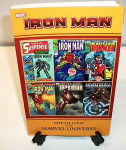 Iron-Man-Official-Index-to-the-Marvel-Universe-TPB-NEW-Trade-Paperback-Comic